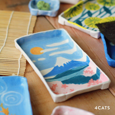 4Cats Sushi Dish Clay Workshop