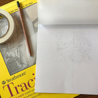 Tracing Paper Pad 9x12"