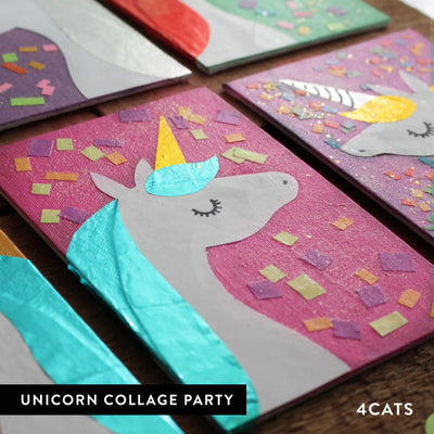 4Cats Kids Unicorn Collage Party