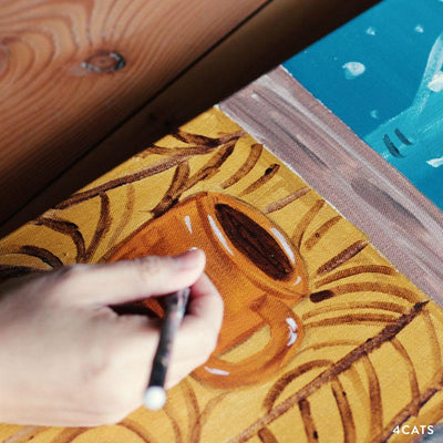 Online Class and Kit | Warm and Cozy Acrylic Painting
