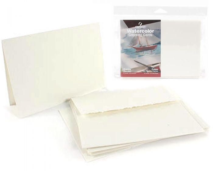 Canson Blank Watercolour Greeting Cards | $9.99