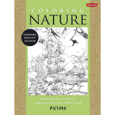 WALTER FOSTER PICTURA COLOURING BOOKS | $13.99