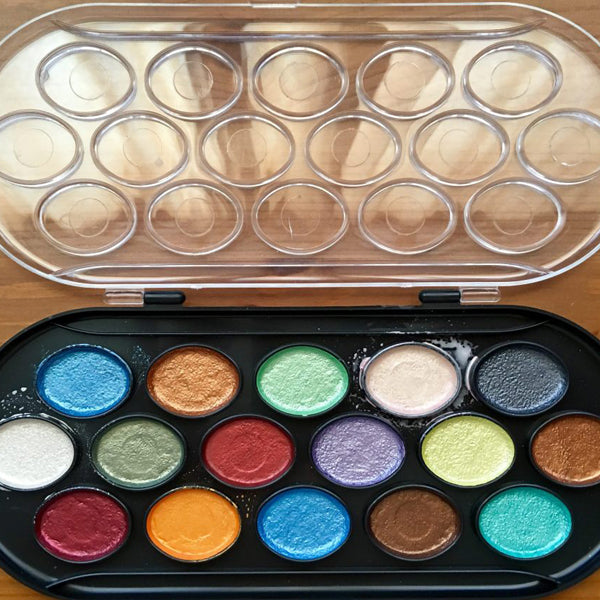 Yasutomo Pearlescent Watercolour Set