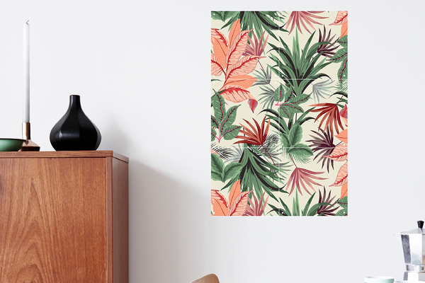Mural Jungle Style doble cara