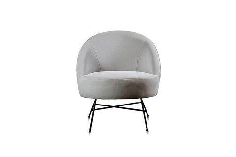 Sillón 1C Amy Club Grey