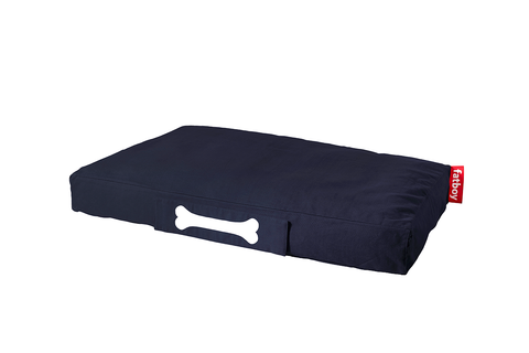 Cama de perro Doggielounge Large Stonewashed dark blue