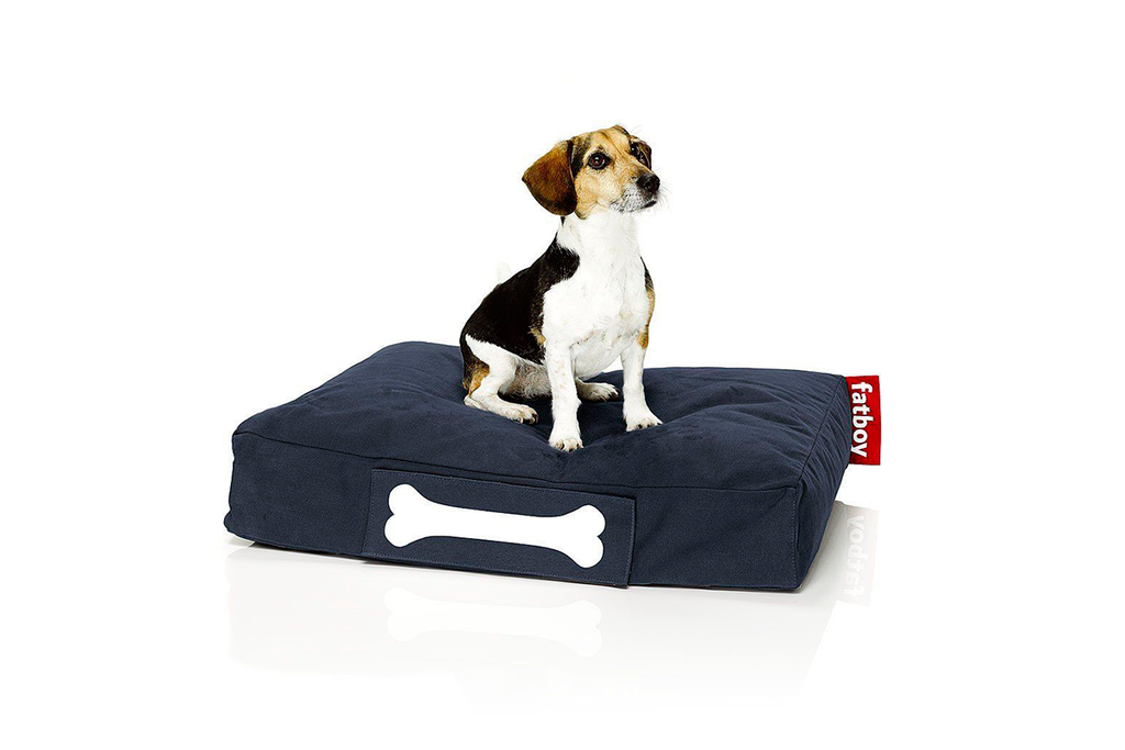 Cama de perro Doggielounge Small Stonewashed dark blue