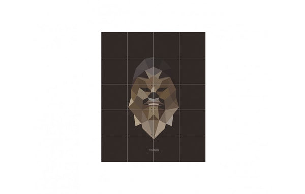 Mural Star Wars Icon: Chewbacca small