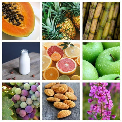Natural Ingredients That are Used in AHAs