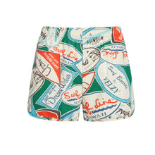 Decals Green Cheeters Shorts - Surf Line Hawaii