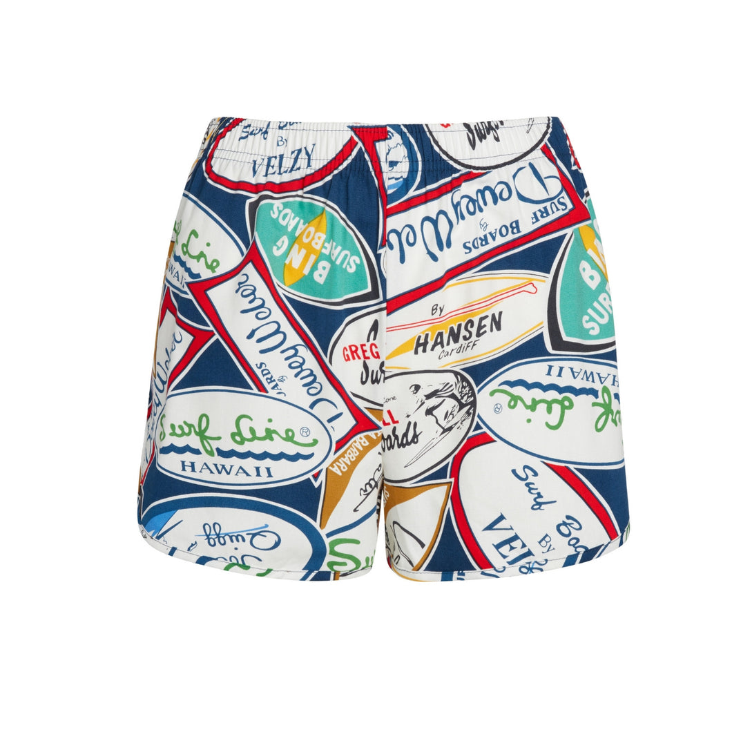 Decals Navy Cheeter Shorts - Surf Line Hawaii