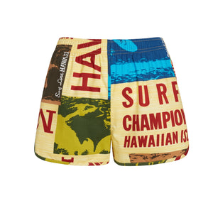 Surf Contest Yellow Cheeters Shorts