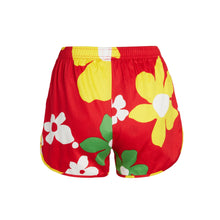 Tradewinds Red Cheeter Shorts