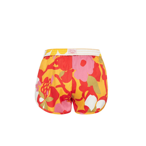 Women's Hau Gold Cheeters Shorts - Surf Line Hawaii