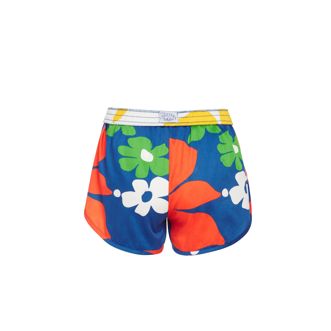 Women's Tradewinds Blue Cheeters Shorts - Surf Line Hawaii