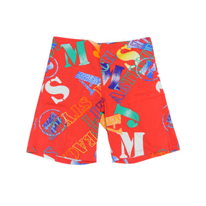 Men's Original Jams - Street Become Life Red - Surf Line Hawaii