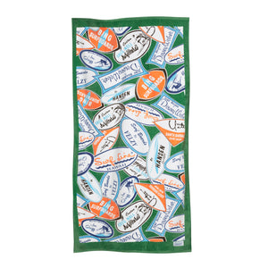 Surf Line Hawaii Towel - Surf Line Hawaii
