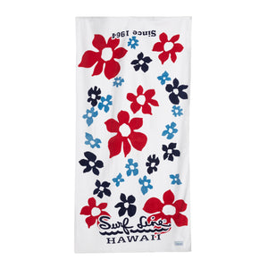 Tradewinds White Towel - Surf Line Hawaii