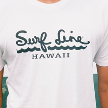 Surf Line Hawaii Script Logo Tee - Surf Line Hawaii