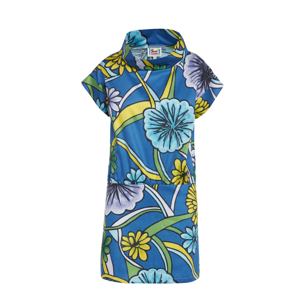Women's Laguna Blue Mod Dress - Surf Line Hawaii