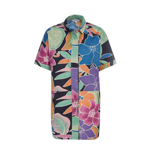 Women's Dwarfana Shirt Dress - Surf Line Hawaii