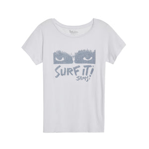 Women's Surf It 60's Tee - Surf Line Hawaii