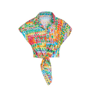Women's Fresco Peri Tie Top - Surf Line Hawaii