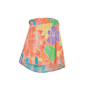 Women's Dragonfly Orange Tube Top - Surf Line Hawaii
