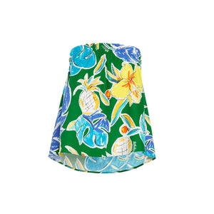 Women's Pineapple Hibiscus Tube Top - Surf Line Hawaii
