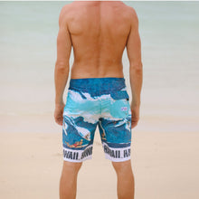 Men's Classic Boardshorts - Big Wave Blue - jamsworld.com