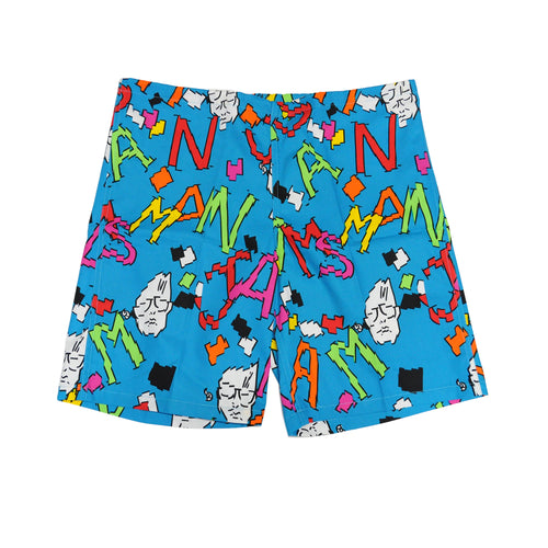 Men's Original Jams - Scrabble Turquoise - Surf Line Hawaii