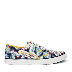 Sneakers - Decals Navy