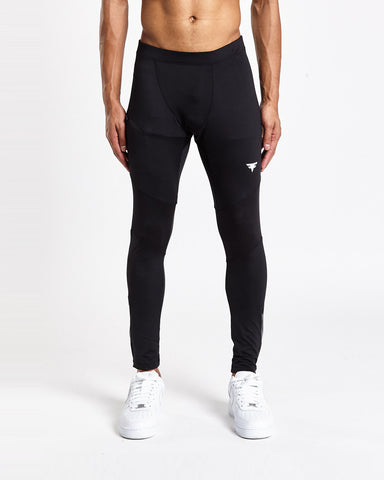 Tech-Dry Black Leggings - FITFAM
