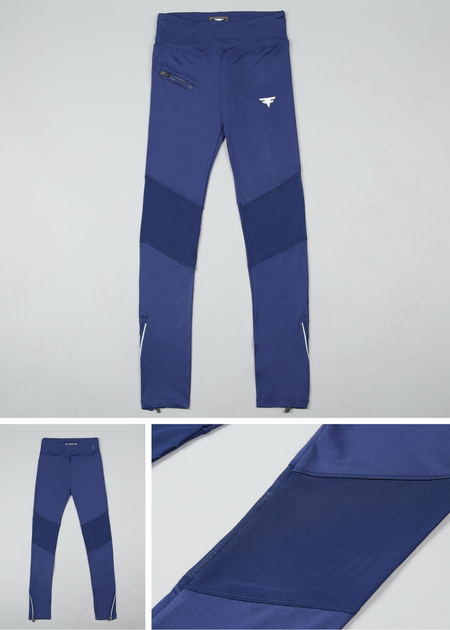 First Edition Tech-Dry Women's Blue Leggings