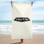 Galactic Night Towel - Yellow