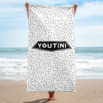 Galactic Night Towel - Black