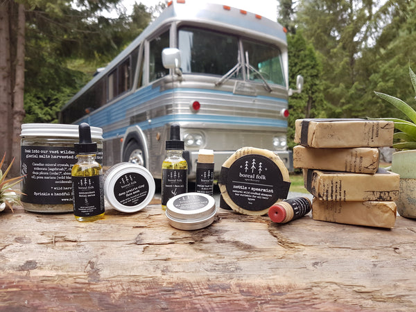 Reform Life , Borealfolk , Apothecary , Vintage Bus Conversion