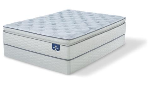 SertaPedic® Alverson Super Pillow Top Firm Mattress - 10 Year Warranty