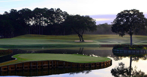 Players Stadium course at TPC Sawgrass: Ponte Vedra Beach, Fla.