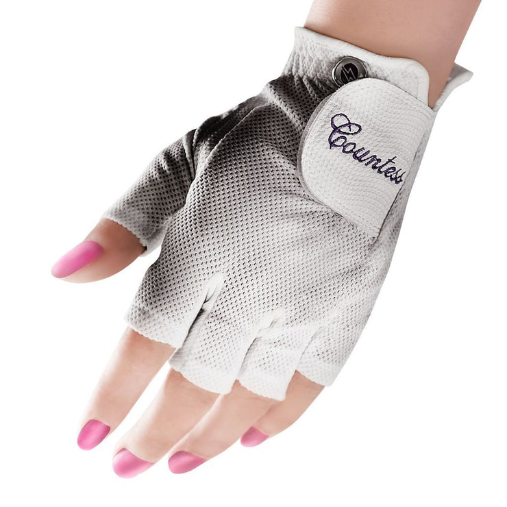 Women's Countess Half-Finger Golf Gloves - Powerbilt