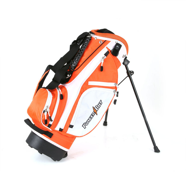 Junior's Stand Golf Bag - Orange - Powerbilt