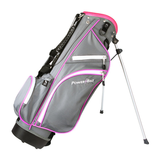 Junior's Stand Golf Bag - Pink - Powerbilt
