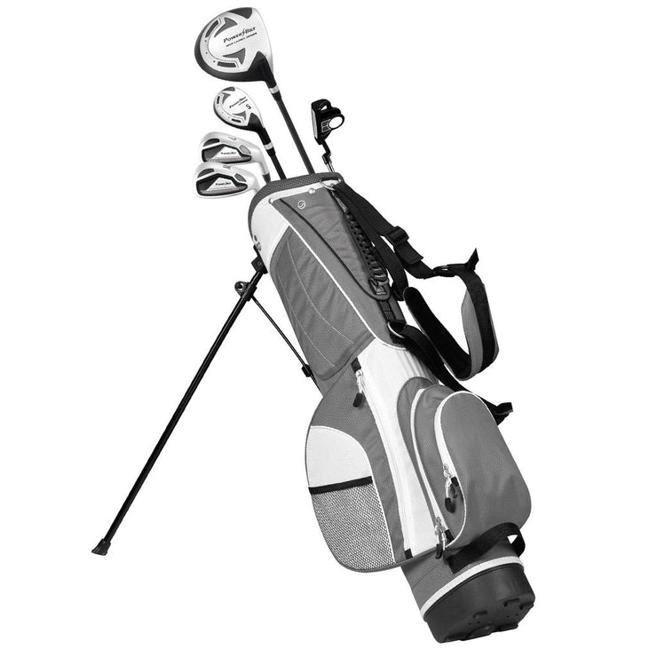 Junior's Stand Bag - Silver - Powerbilt