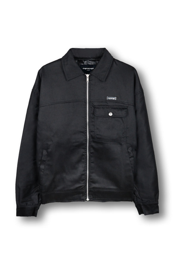 Axl Bomber Jacket - Black