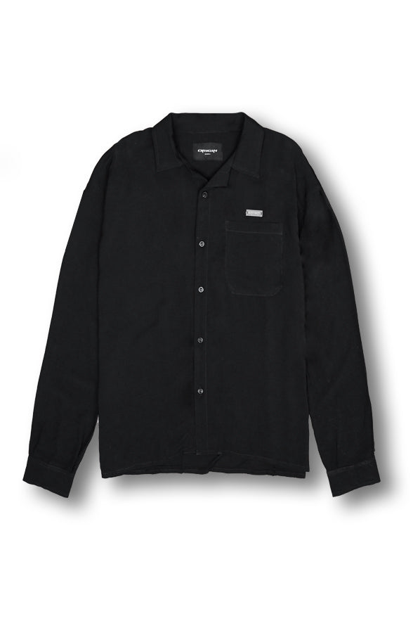 Sykes Cuban Shirt - Black