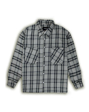 Load image into Gallery viewer, Flannel Shirt - Sand/Black/Navy