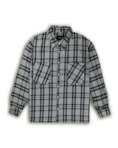 Flannel Shirt - Sand/Black/Navy