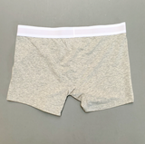 Boxer Brief w/Fly - Heather Grey [4501T]