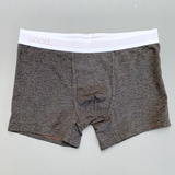 Boxer Brief w/Fly - Charcoal Heather [4501T]