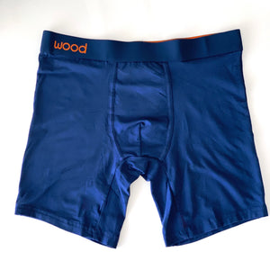 Biker Brief - Navy (同色バンド) [5001B]